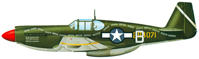 Profil couleur du North American A-36 Invader/Apache