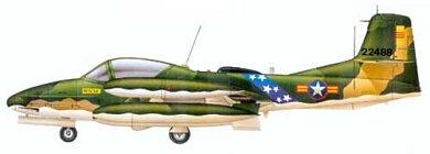 Profil couleur du Cessna A-37 Dragonfly