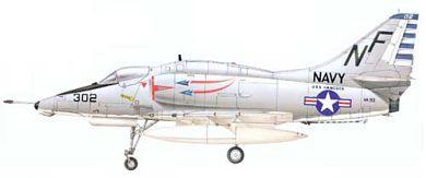 Profil couleur du Douglas A-4 Skyhawk