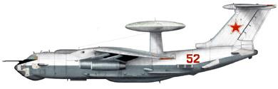 Profil couleur du Beriev A-50  'Mainstay'