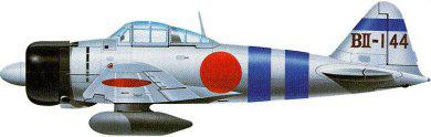 Profil couleur du Mitsubishi A6M Rei-sen 'Zero'