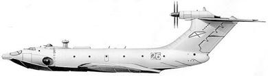 Profil couleur du Alekseyev A-90 Orlyonok