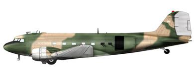 Profil couleur du Douglas AC-47 Spooky