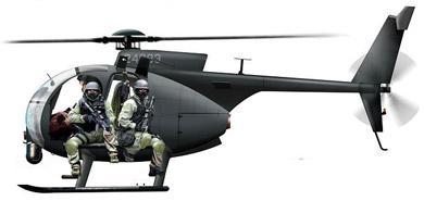 Profil couleur du MD Helicopter AH-6/MH-6 Little Bird