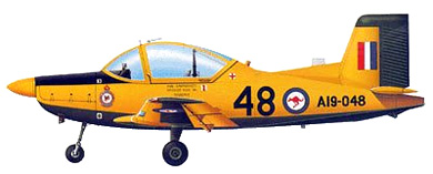Profil couleur du PAC CT-4 Airtrainer
