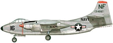 Profil couleur du North American AJ-1/AJ-2 Savage