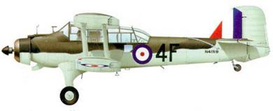 Profil couleur du Fairey  Albacore