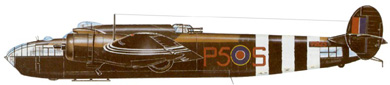 Profil couleur du Armstrong Whitworth AW.41 Albemarle