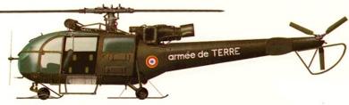 Profil couleur du Aérospatiale SA.316 Alouette III