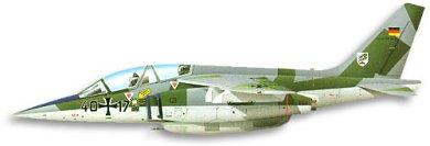 Profil couleur du Dassault-Breguet/Dornier Alpha Jet
