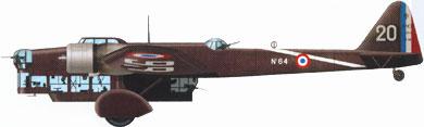Profil couleur du Amiot Am.143