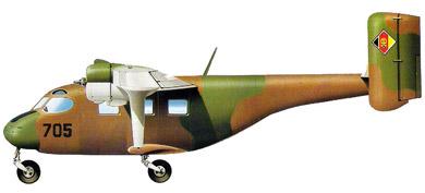Profil couleur du Antonov An-14 Pchelka 'Clod'