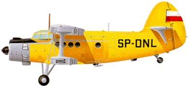 Profil couleur du Antonov An-2  'Colt'
