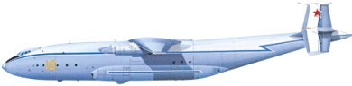 Profil couleur du Antonov An-22 Antey 'Cock'