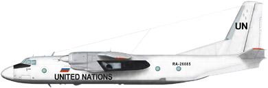 Profil couleur du Antonov An-26 'Curl'