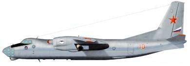 Profil couleur du Antonov An-30 'Clank'
