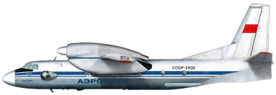 Profil couleur du Antonov An-32 'Cline'