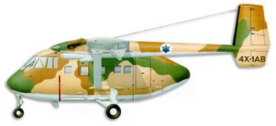 Profil couleur du I.A.I. Arava