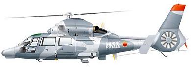 Profil couleur du Eurocopter AS.565 Panther