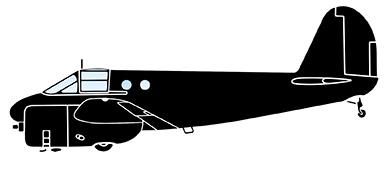 Profil couleur du Beechcraft AT-10 Wichita