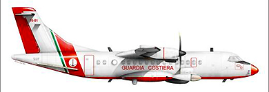 Profil couleur du Alenia ATR-42MP