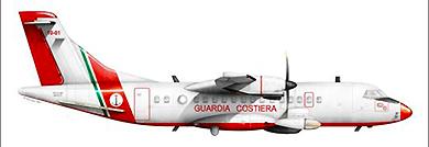 Profil couleur du Alenia ATR-42MP