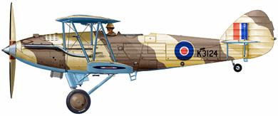 Profil couleur du Hawker  Audax