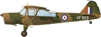 Profil couleur du Taylorcraft  Auster A.O.P.