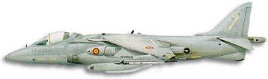 Profil couleur du McDonnell-Douglas AV-8B Harrier II
