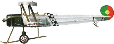 Profil couleur du Avro 504