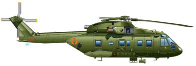 Profil couleur du Agusta-Westland AW.101 Merlin