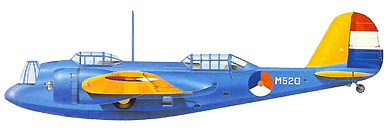 Profil couleur du Martin B-10