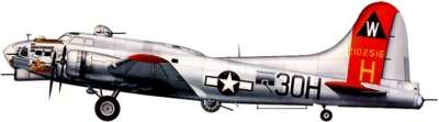 Profil couleur du Boeing B-17 Flying Fortress