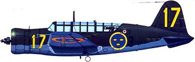 Profil couleur du Saab B17