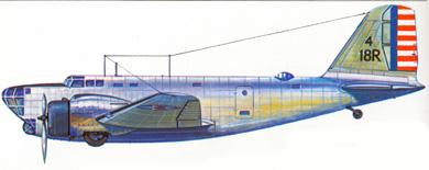 Profil couleur du Douglas B-18 Bolo