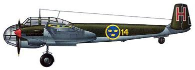 Profil couleur du Saab B18