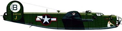 Profil couleur du Consolidated B-24 Liberator