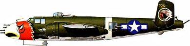 Profil couleur du North American B-25 Mitchell