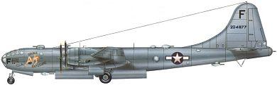 Profil couleur du Boeing B-29 Superfortress