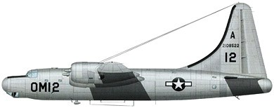 Profil couleur du Consolidated B-32 Dominator