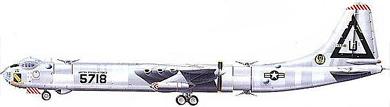 Profil couleur du Convair B-36 Peacemaker