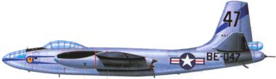 Profil couleur du North American B-45 Tornado