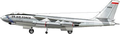 Profil couleur du Boeing B-47 Stratojet
