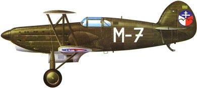 Profil couleur du Avia B.534