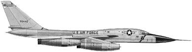 Profil couleur du Convair B-58 Hustler