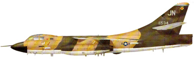 Profil couleur du Douglas B-66/RB-66 Destroyer