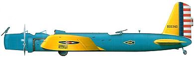 Profil couleur du Boeing B-9