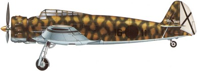 Profil couleur du Breda Ba.65