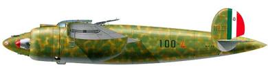 Profil couleur du Breda Ba.88 Lince
