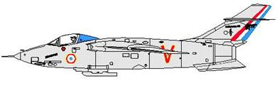 Profil couleur du Sud-Est SE.5000 Baroudeur
